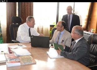 """محافظ الإسماعيلية يستقبل المشرف العام على مشروعات المحليات بـ""""التخطيط"""""""