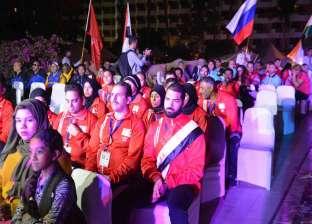 افتتاح بطولة العالم الثالثة عشر لرفع الأثقال للمكفوفين في الأقصر
