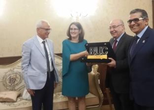 بالصور  جامعة بدر تستقبل سفيرة كوبا لبحث سبل التعاون المشترك