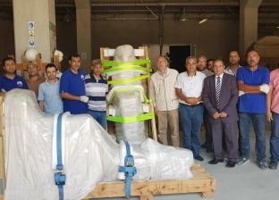 المتحف المصري الكبير يستقبل 71 قطعة أثرية من مخزن البهنسا بالمنيا