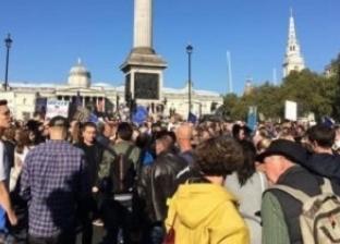 عشرات الآلاف يتظاهرون للمطالبة باستفتاء جديد حول