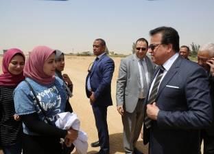 عبدالغفار لرئيس جامعة مدينة السادات: ربط البحث العلمي بالصناعة ضرورة