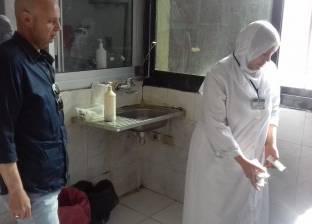 خصم حافز الإشراف والقيادة لمدير مستشفى أبو حماد لتغيبه عن العمل