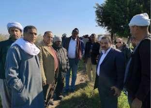 وفد سوداني يزور محطات الري الحقلي بالبحيرة