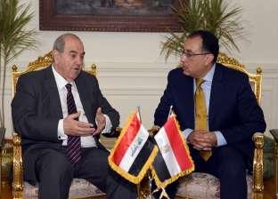 مصطفى مدبولي لنائب الرئيس العراقي: مصممون على دعم التعاون بين البلدين