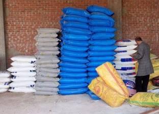 ضبط 20.5 طن أعلاف حيوانية مجهولة المصدر في الشرقية
