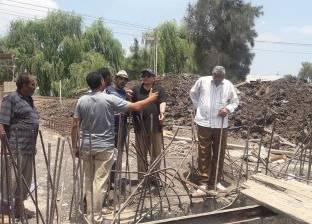 رئيس مدينة السنطة يوجه بصيانة هبوط أرضي ورفع 5 حالات تعد على بحر شبين