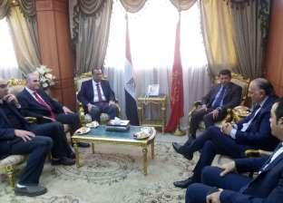 وزير الشباب والرياضة يجتمع باللجنة المنظمة لبطولة كرة اليد ببورسعيد