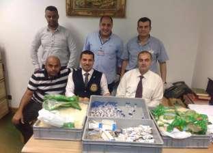 إحباط تهريب أدوية مع راكب بنغالي قادم من السعودية