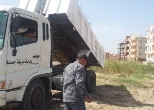 رئيس مدينة جمصة: رفع كفاءة الشوارع استعدادا للمصيف