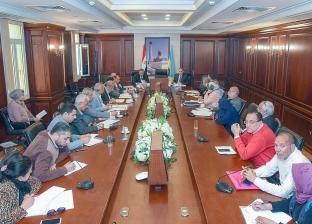 سكرتير عام الإسكندرية يجتمع مع لجنة تقنين أوضاع الأراضي