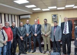 محافظ الغربية يستقبل وفد وزارة المالية لتشغيل منظومة إدارة المعلومات