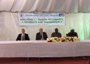 وزير الخارجية يلتقي قيادات لجنة تسيير الحوار الوطني في جنوب السودان