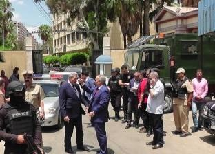 مساعد وزير الداخلية ومدير أمن الدقهلية يتفقدان تأمين احتفالات 30 يونيو