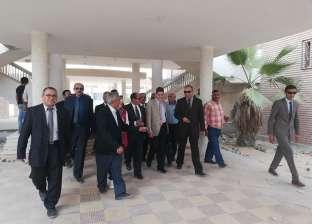 جامعة العريش تستقبل لجنة تقييم الجامعات المصرية