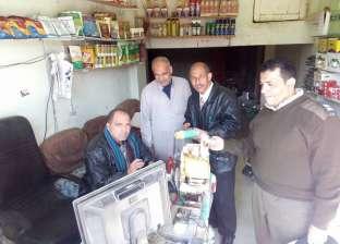 ضبط محلين للإتجار في المبيدات الزراعية بدون ترخيص بالشرقية