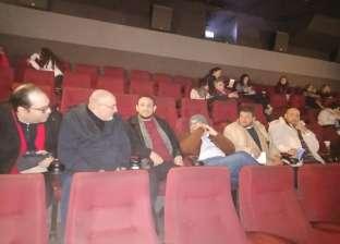 """خالد الجندي وعدد من مشايخ الأزهر يشاهدون فيلم """"الضيف"""" في السينما"""