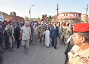 """بالصور  جنازة عسكرية لشهيد الصاعقة """"إسلام علي"""" في مسقط رأسه بأسيوط"""