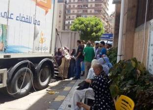 """""""أمن القليوبية"""" ينظم قافلة للكشف على المساجين ضمن حملة """"100 مليون صحة"""""""