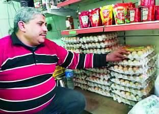 أسعار البيض حائرة بين المستهلك والبائع والوسيط والمربى و40٪ من أصحاب المزارع خرجوا من المنظومة بسبب الديون