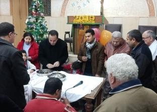 «نحتفل باسمك يا فادي».. كنيسة النهضة تعظم شهيدها في «عيد الميلاد»