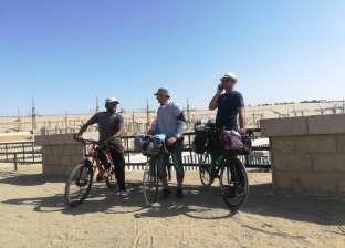 من الغربية لأسوان.. رحلة «إيهاب» وصديقه على العجلة: 1200 كيلو