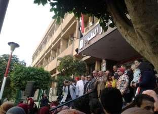"""بالصور  افتتاح مهرجان الأنشطة الطلابية بـ""""دار علوم القاهرة"""""""