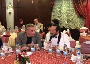 محمود حميدة ولطفي لبيب يحضران عيد ميلاد علي الحجار