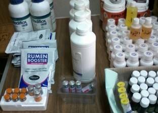 ضبط كمية من الأدوية البيطرية بسيوة مهربة من ليبيا