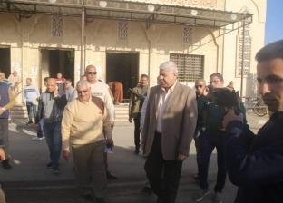إغلاق محيط لجان الانتخابات التكميلية بسواتر حديدية بوسط العريش