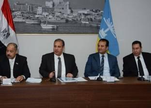 محافظ الإسكندرية يتفقد أعمال التطوير بجراج الخالدين