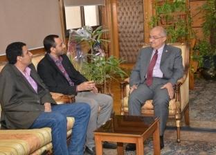 رئيس جامعة أسيوط يستقبل رئيس لجنة الجرحى بوزارة الدفاع اليمنية