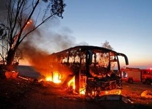 عاجل  الفصائل الفلسطينية تتبنى استهداف حافلة إسرائيلية بصاروخ موجه