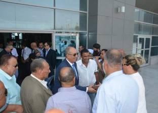استقبال حافل لمحافظ البحر الأحمر بعد تجديد الثقة بمطار الغردقة