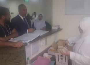 محافظ البحر الأحمر يزور مستشفى القصير ويوجه باتخاذ الإجراءات الوقائية