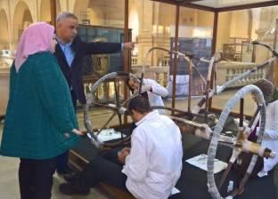 رئيس قطاع المتاحف: القطع الأثرية بمتحف سوهاج تُظهر الدين عند الفراعنة