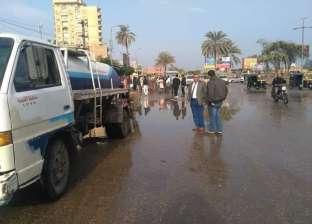 أمطار ورياح محملة بالأتربة تضرب الغربية