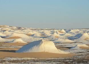 الصحرا البيضاء وعين السرو