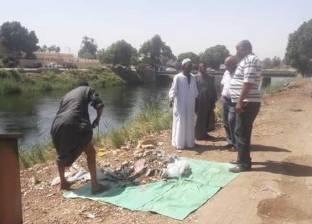 حملات نظافة بمدينة أسنا جنوب الأقصر