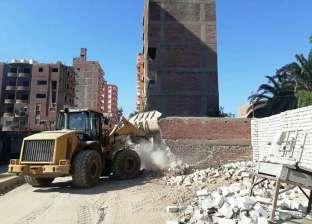 محافظ سوهاج: إزالة 15 مبنى مخالف بحي شرق