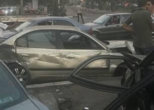 """""""القاهرة"""": الترام المصطدم بـ5 سيارات كان معطلا وتحرك بقوة دفع الهواء"""