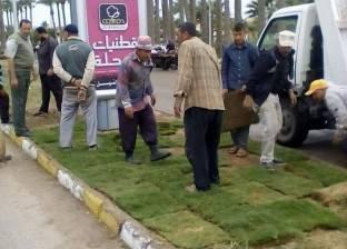 بالصور| مجلس مدينة رأس البر يعد خطة لرفع كفاءة حدائق المدينة