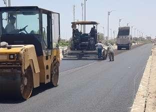 رفع كفاءة طريق نبق السياحي بـ20 مليون جنيه في شرم الشيخ