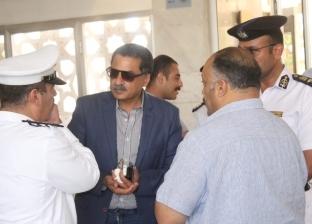 مساعد وزير الداخلية يزور بعثة منتخب بنين في الإسماعيلية