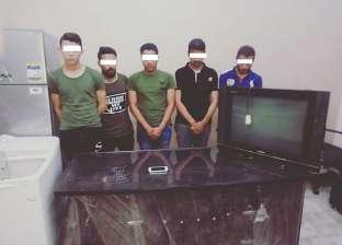 ضبط 5 أشخاص لاعتدائهم على مواطن داخل مسكنه في القاهرة