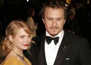 زواج ميشيل وليامز بعد سنوات من وفاة شريكها هيث ليدجر