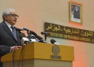 الأخضر الإبراهيمي: على الاتحاد الإفريقي مواصلة العمل لتسوية النزاع في ليبيا