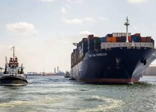 """""""ميناء دمياط"""" يستقبل 3 سفن حاويات وبضائع عامة خلال الـ24 ساعة"""