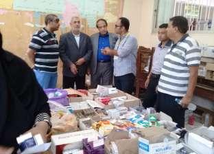 مدير مستشفى أبورديس: فتح العيادات الخارجية بالفترة المسائية