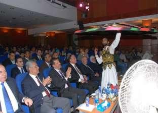 بالصور| احتفالية قصر ثقافة أسيوط بالعيد القومي للمحافظة